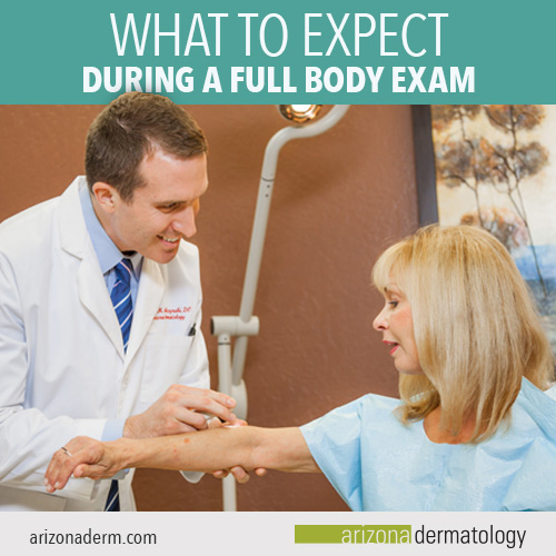 What to expect during a full body exam