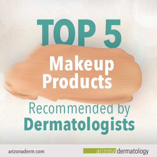 Top 5 makeup products recommended by dermatologists