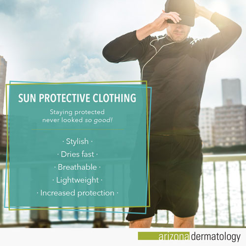 The benefits of sun protective clothing