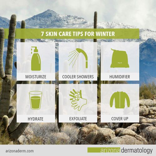 Winter tips for the skin