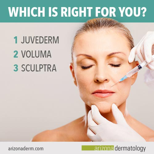 Which Facial Filler is Right for You? | Arizona Dermatology
