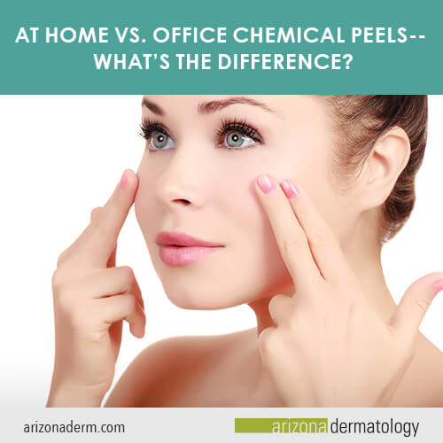 At Home Vs Office Chemical Peels What S The Difference